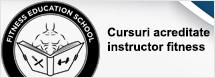 Cursuri certificate instructor fitness aerobic